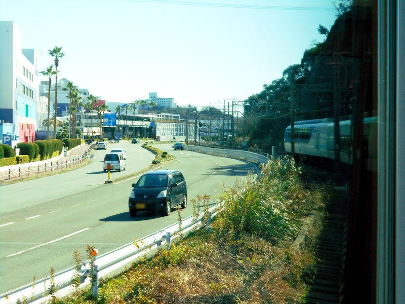 近鉄特急「しまかぜ」と志摩スペイン村2015-01-2125
