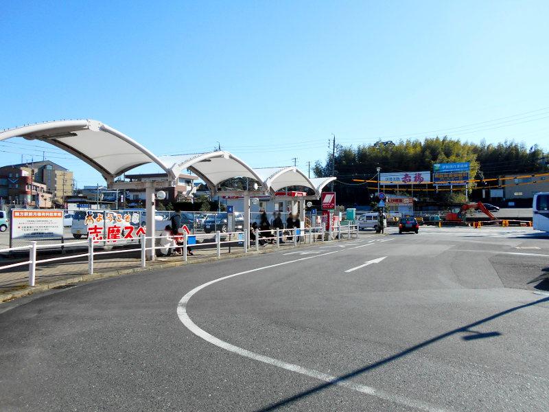 近鉄特急「しまかぜ」と志摩スペイン村2015-02-2203
