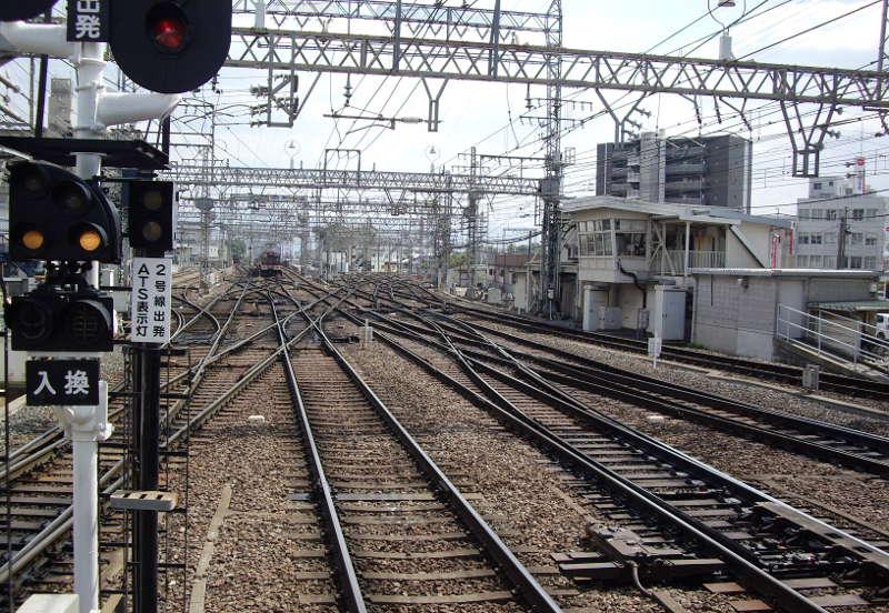 近鉄・大和西大寺駅2014-8004