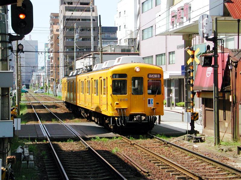 高松・黄色いことでん2006-1107