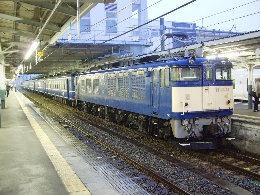 客車急行アルプス松本行き2009夏-1101