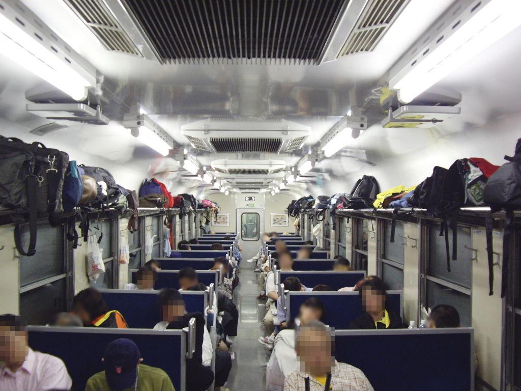 客車急行アルプス松本行き2009夏-1117