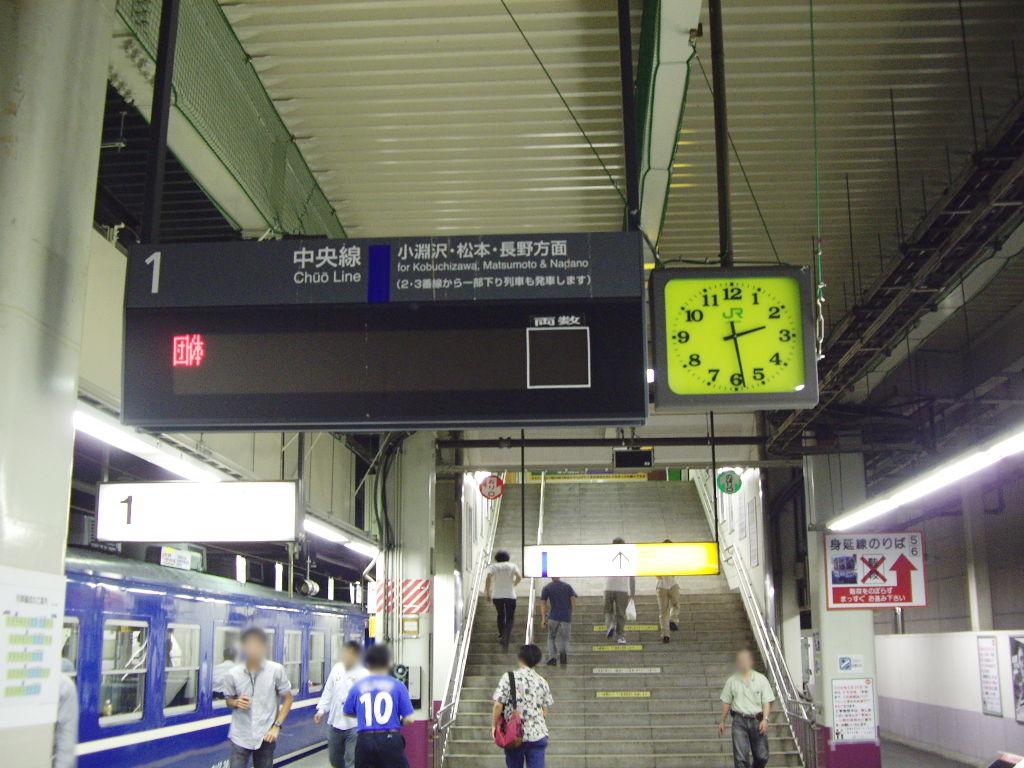 客車急行アルプス松本行き2009夏-1121