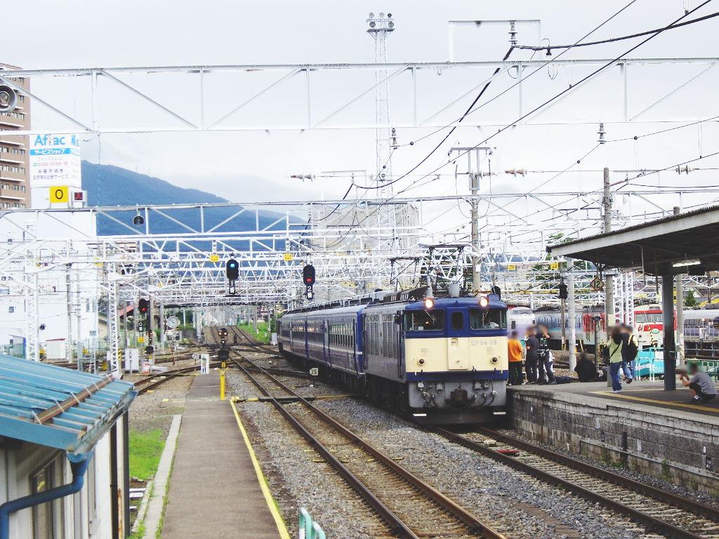 客車急行アルプス新宿行き2009夏-1201