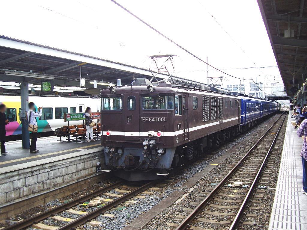 客車急行アルプス新宿行き2009夏-1202