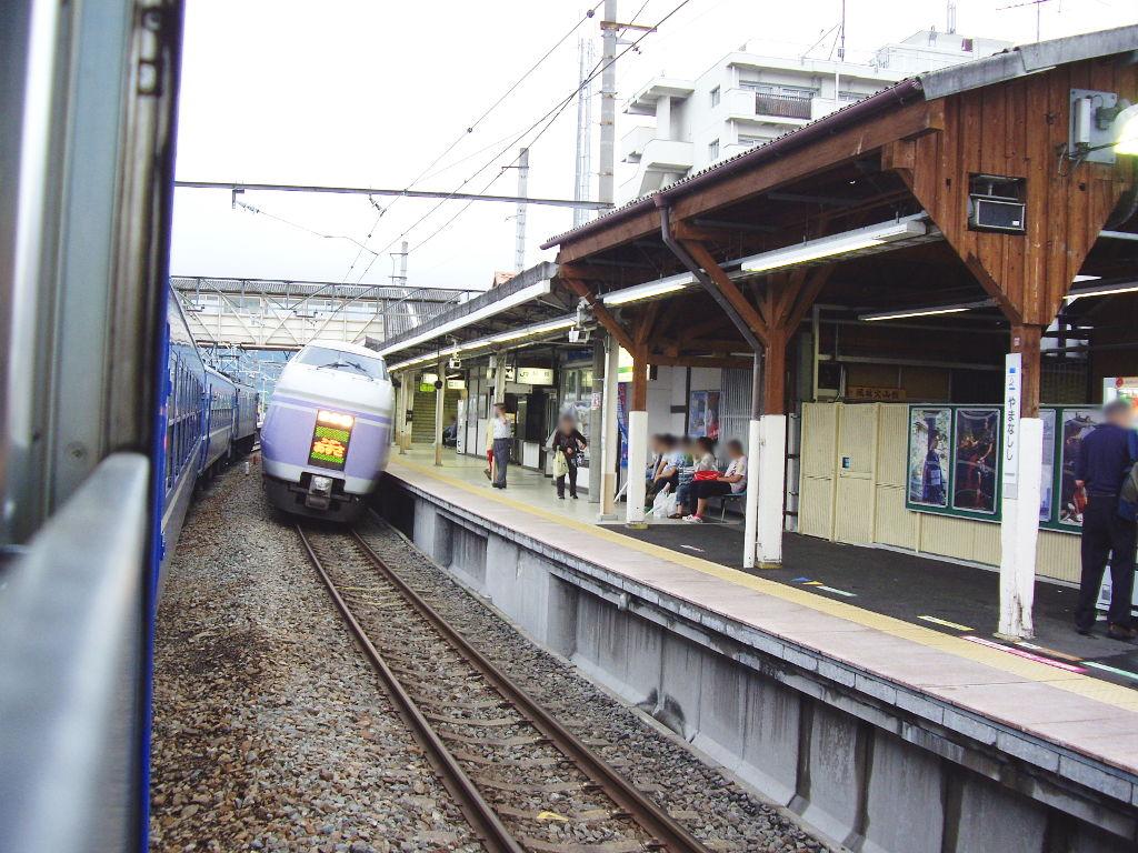 客車急行アルプス新宿行き2009夏-1205