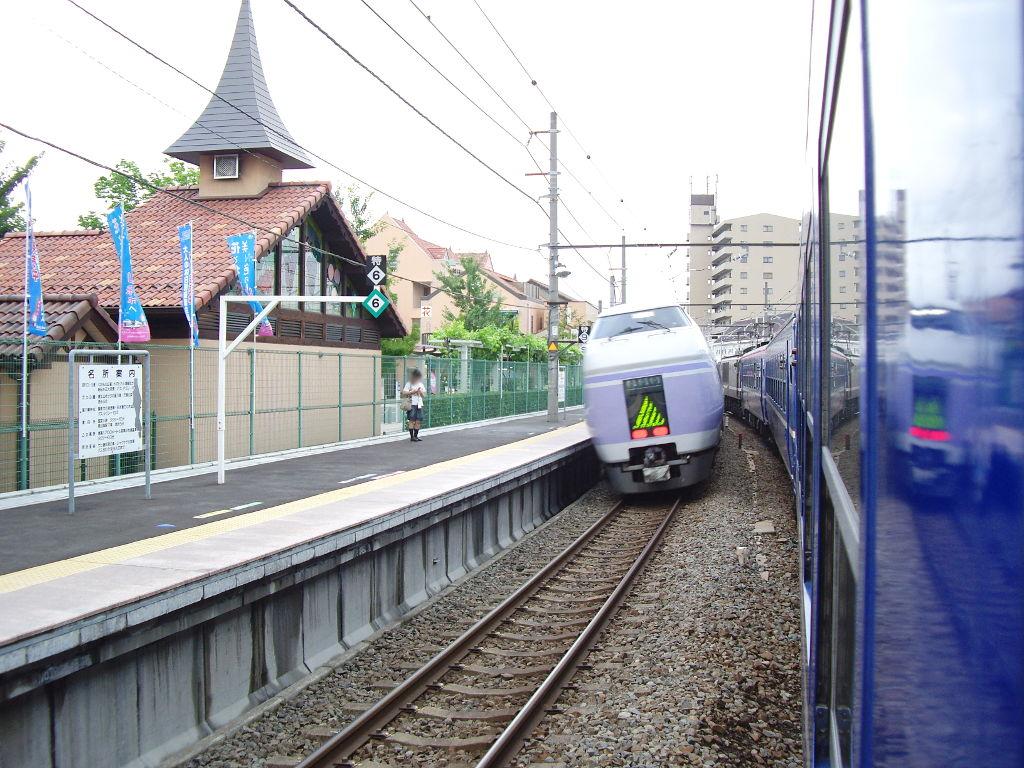 客車急行アルプス新宿行き2009夏-1206