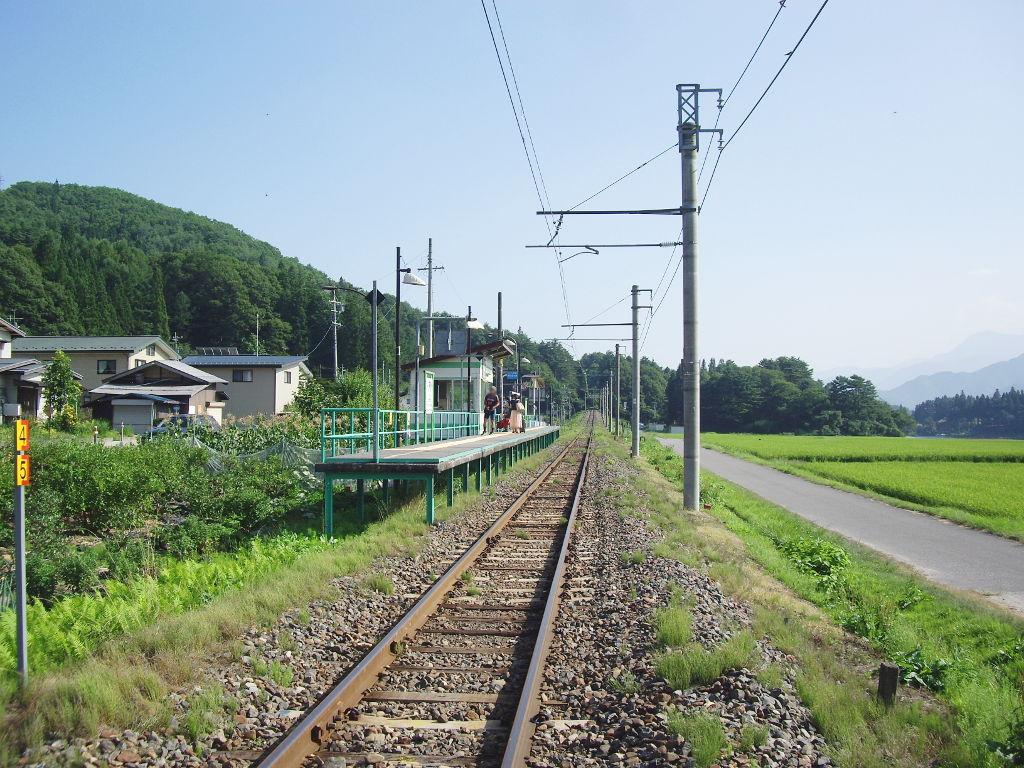 大糸線稲尾駅2013夏-1703