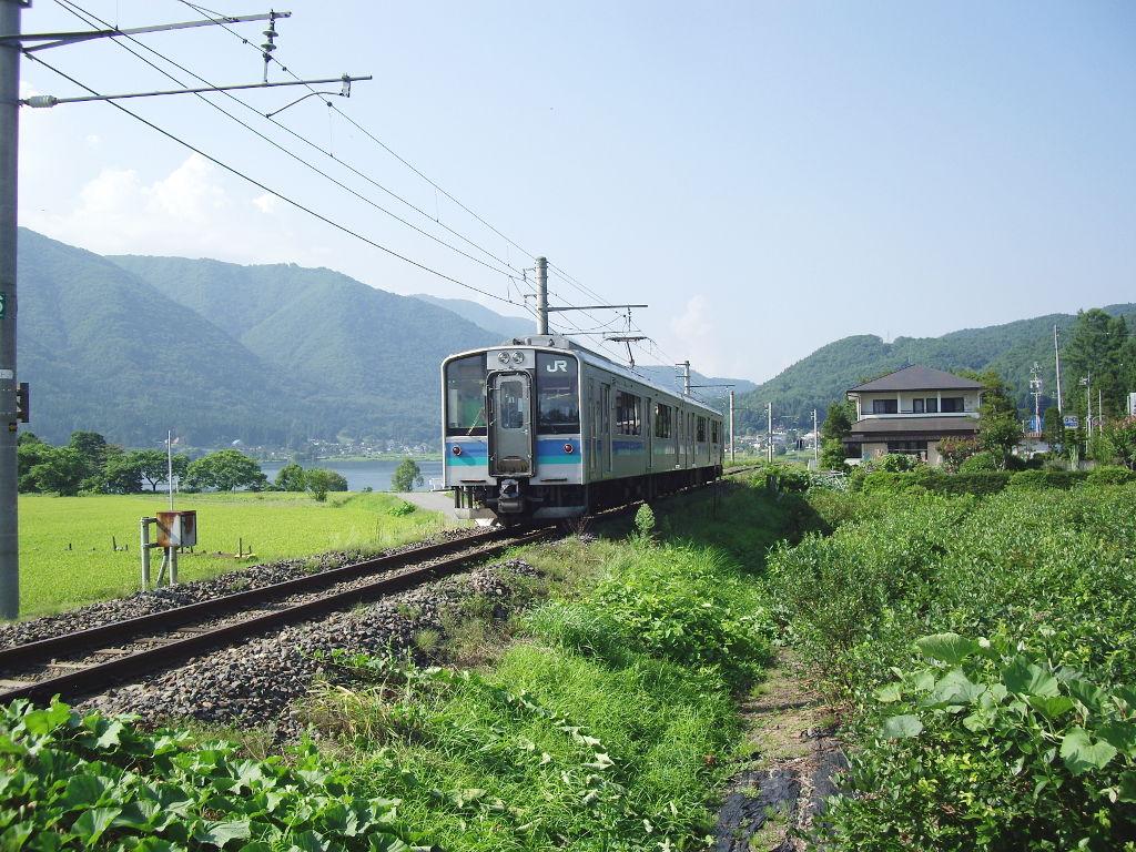 大糸線稲尾駅2013夏-1706