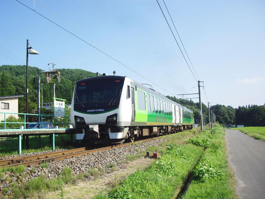 大糸線稲尾駅2013夏-1712