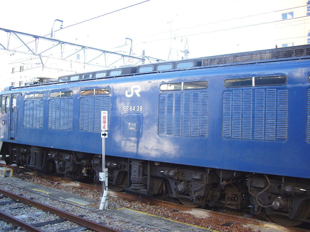 山梨・お城とEF64形機関車・甲府駅2014新春-1107