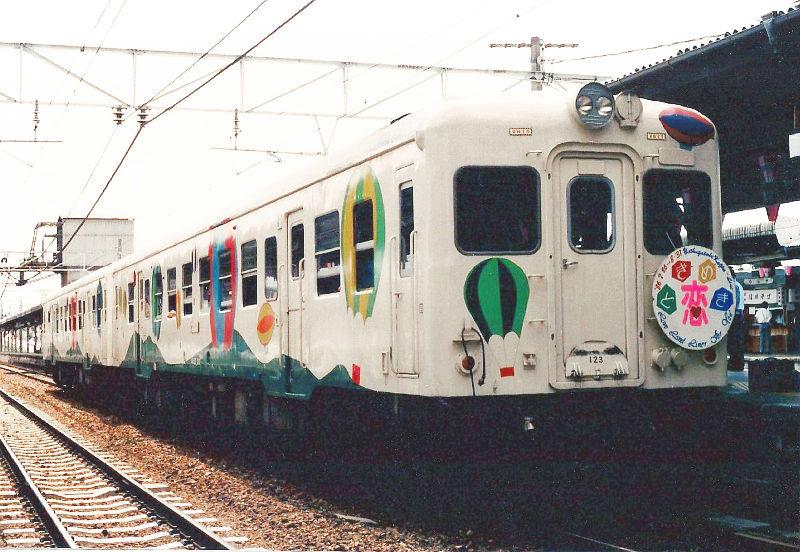 小海線・ときめきの恋列車と八ヶ岳号1986-8001