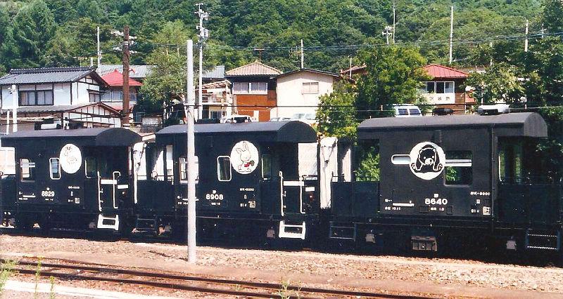 小海線・ときめきの恋列車と八ヶ岳号1986-8004