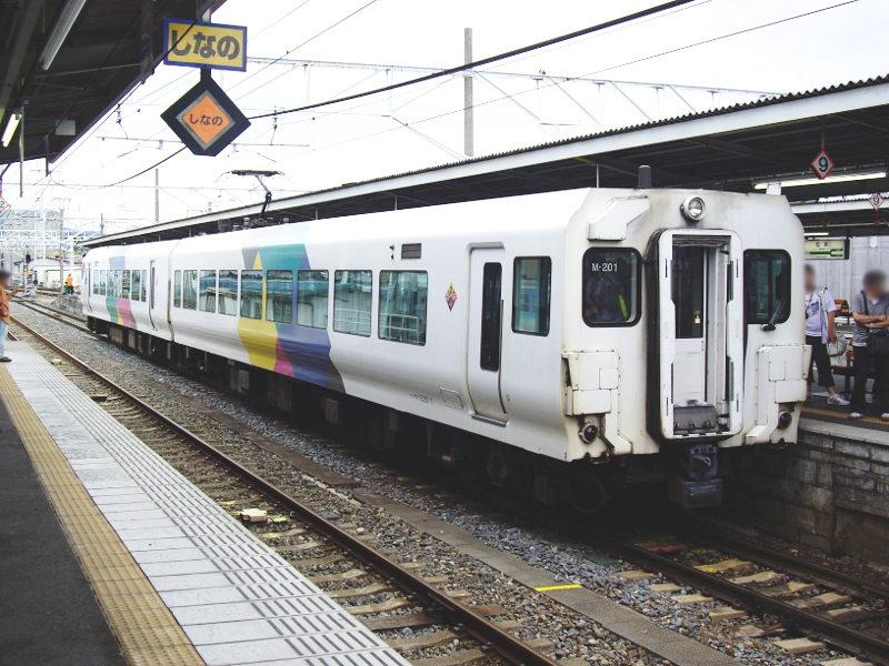 信州・松本駅の特急列車2009-1107