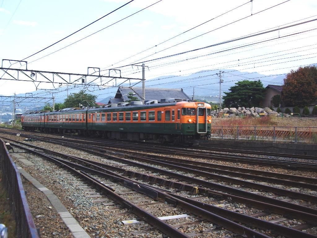 しなの鉄道169系湘南色2010その1-1104