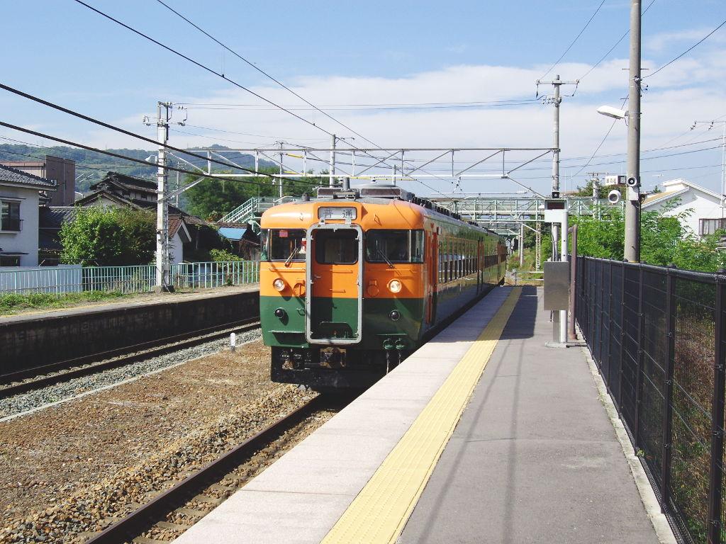 しなの鉄道169系湘南色2010その1-1105