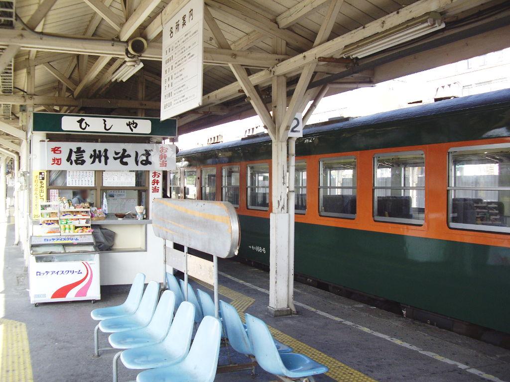 しなの鉄道169系湘南色2010その1-1113