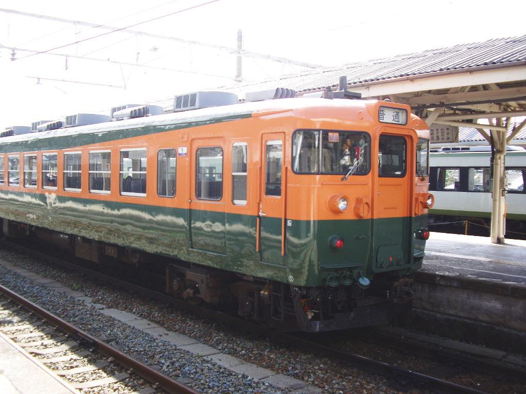 しなの鉄道169系湘南色2010その2-1201
