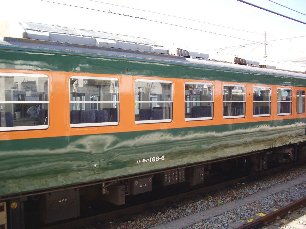しなの鉄道169系湘南色2010その2-1206