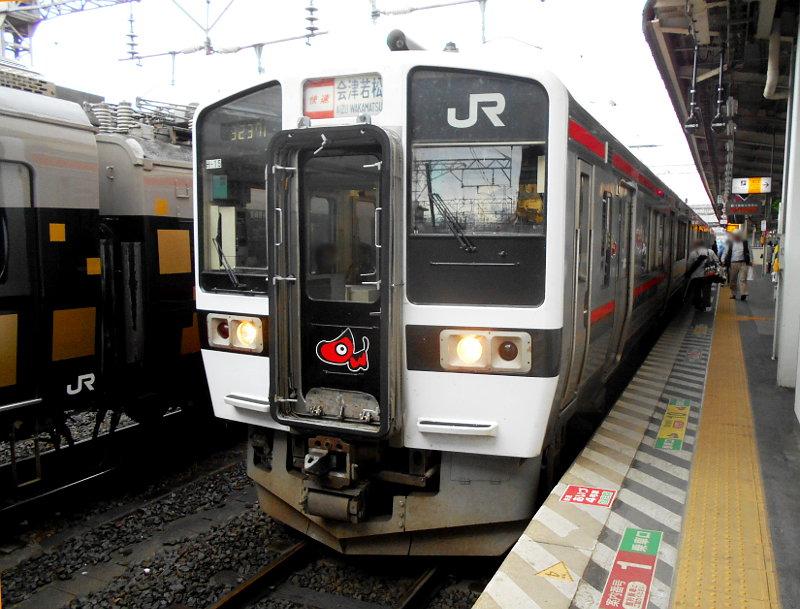 旧型客車・ELレトロ栃木・福島号2015-4-9415