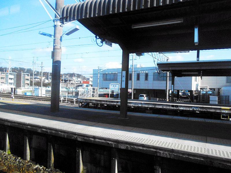 名鉄・西枇杷島駅2015-0609