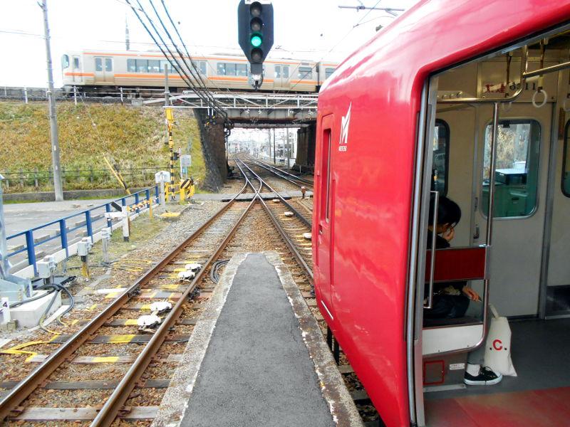 名鉄・西枇杷島駅2015-0615