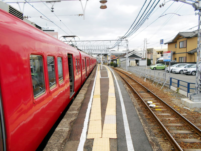名鉄・西枇杷島駅2015-0616