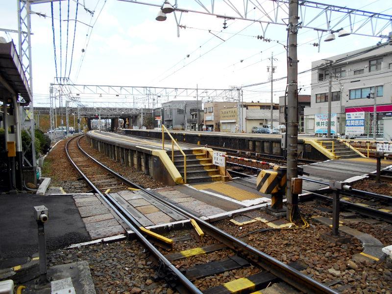 名鉄・西枇杷島駅2015-0619