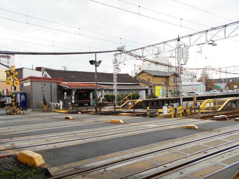 名鉄・西枇杷島駅2015-0620