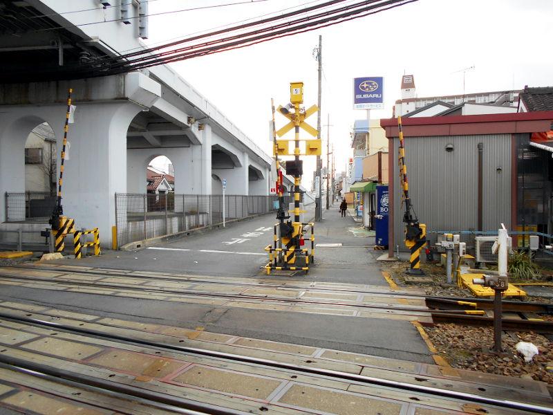 名鉄・西枇杷島駅2015-0621
