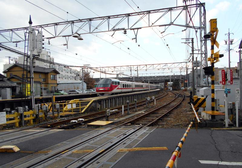 名鉄・西枇杷島駅2015-0622