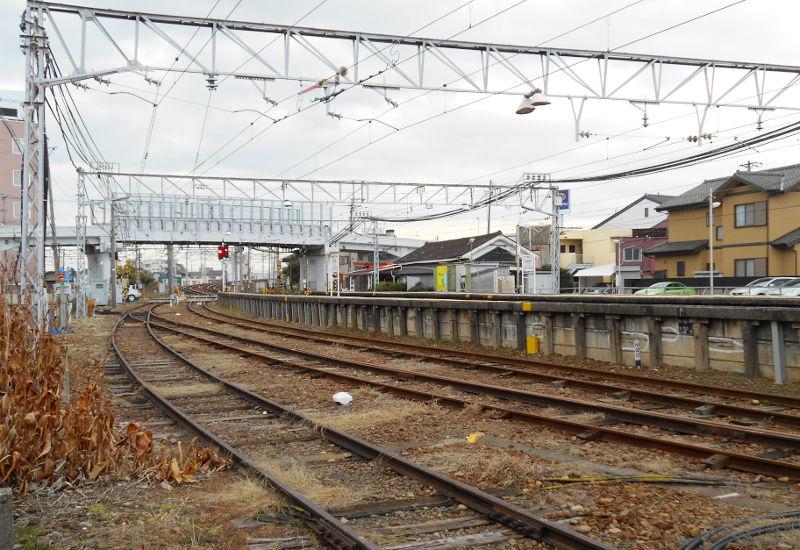 名鉄・西枇杷島駅2015-0625