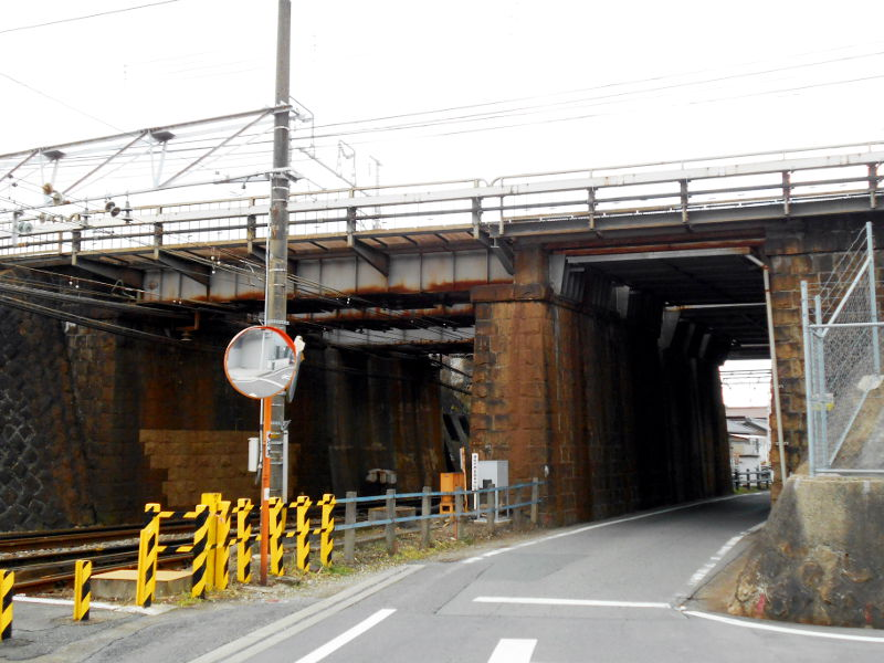 名鉄・西枇杷島駅2015-0626