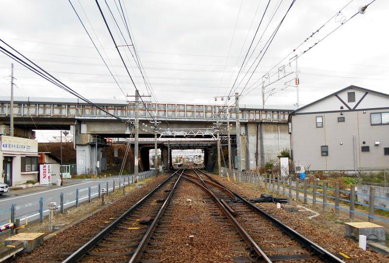 名鉄・西枇杷島駅2015-0627