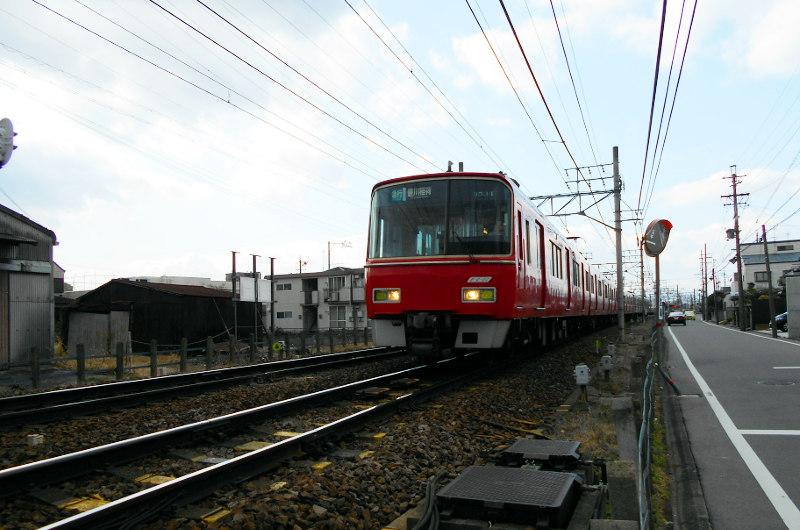 名鉄・西枇杷島駅2015-0628