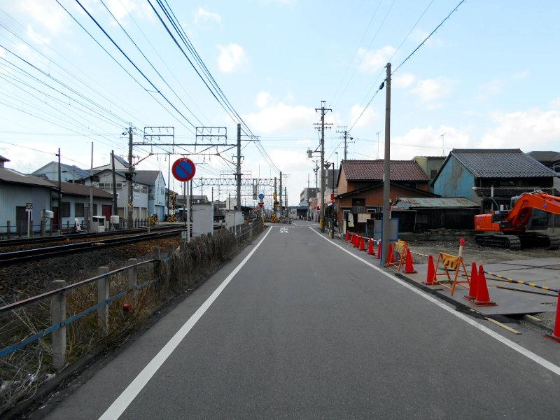 名鉄・西枇杷島駅2015-0629
