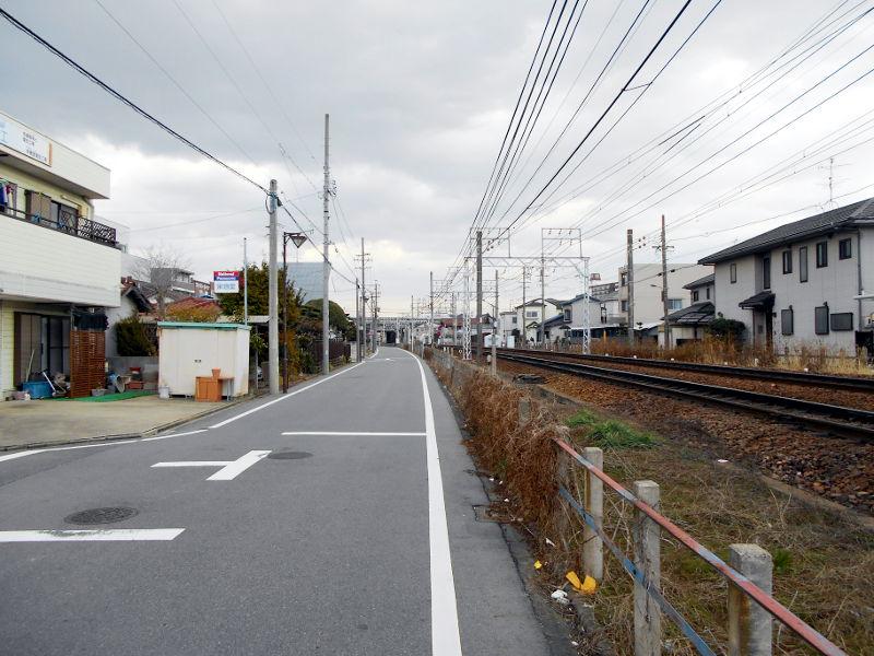 名鉄・西枇杷島駅2015-0630