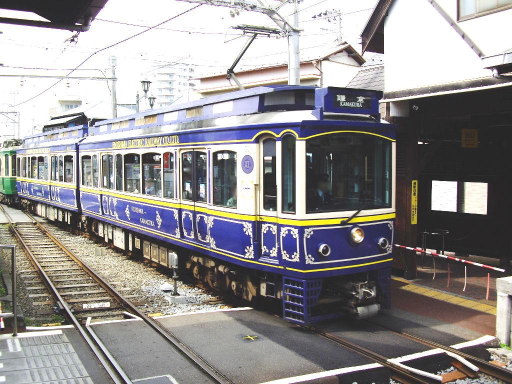 江ノ電・江ノ島駅2010春-1005