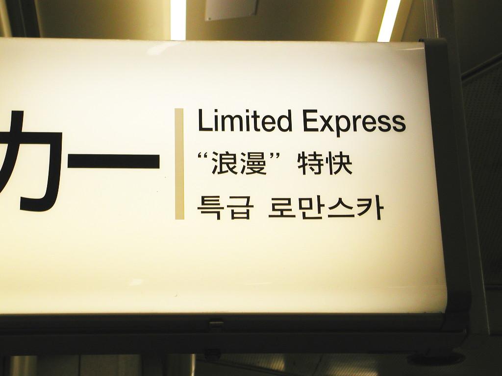 箱根・小田急ロマンスカーVSE・2006秋-1004