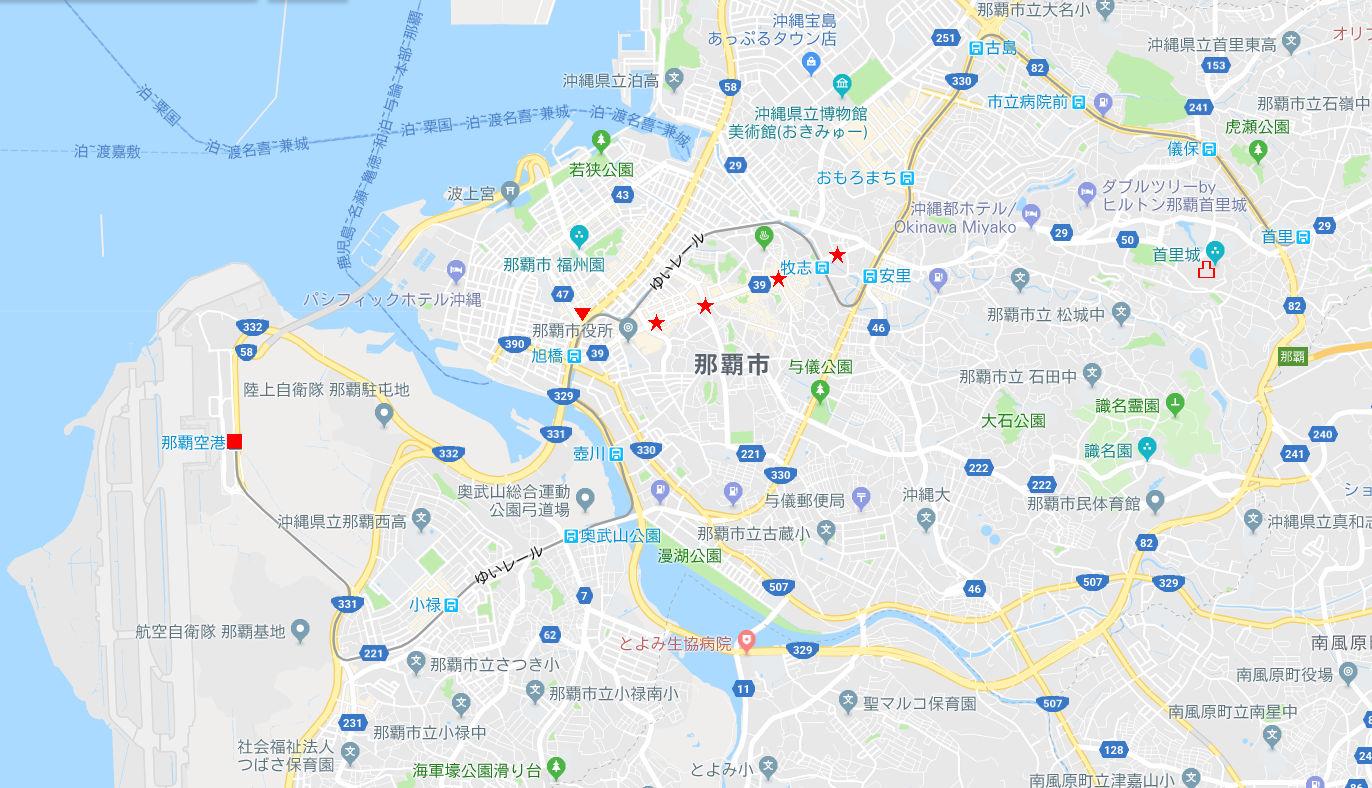 沖縄・那覇で年越し2018その1・旅立ち-1134