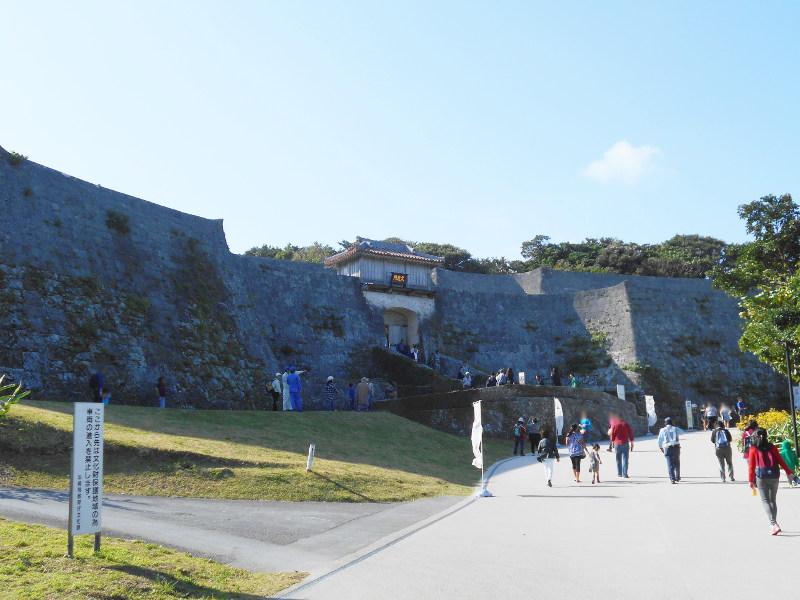 沖縄・那覇で年越し2018その3・首里への道-1321