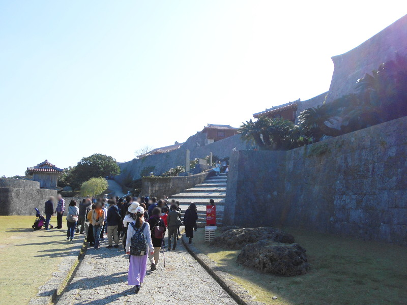 沖縄・那覇で年越し2018その4・首里城の正月儀式-1403