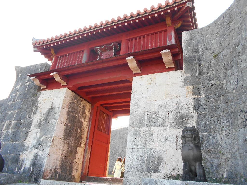 沖縄・那覇で年越し2018その4・首里城の正月儀式-1405