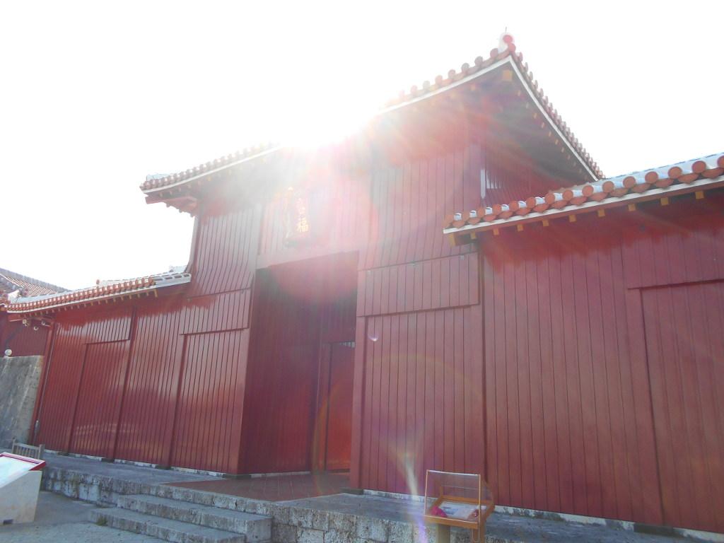 沖縄・那覇で年越し2018その4・首里城の正月儀式-1406