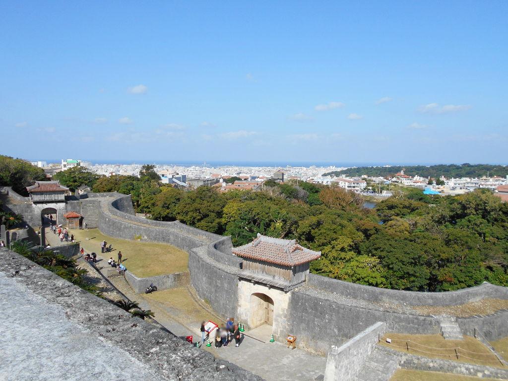 沖縄・那覇で年越し2018その4・首里城の正月儀式-1408
