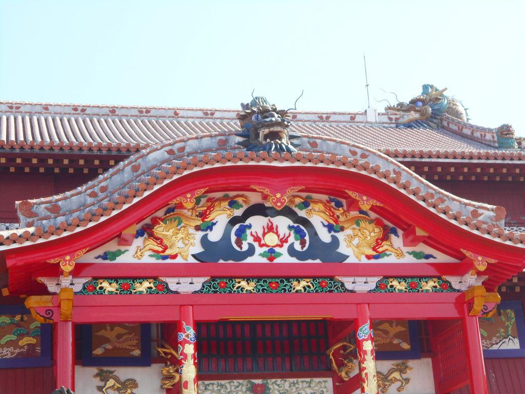 沖縄・那覇で年越し2018その4・首里城の正月儀式-1417