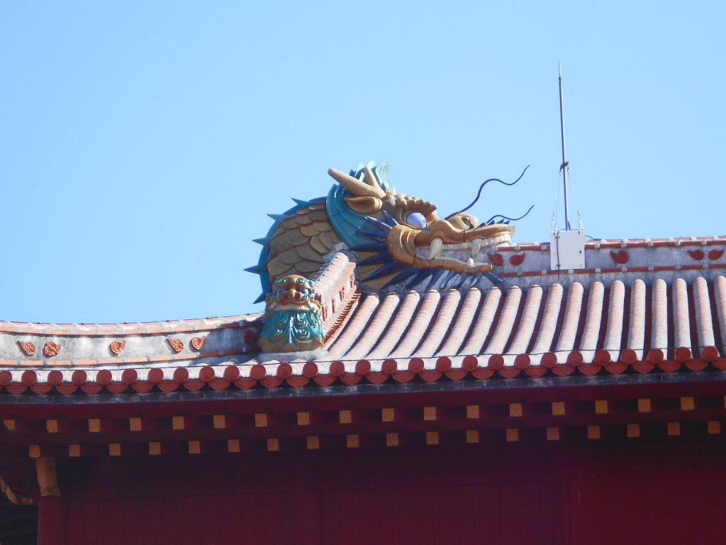 沖縄・那覇で年越し2018その4・首里城の正月儀式-1418