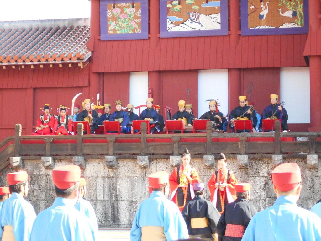 沖縄・那覇で年越し2018その4・首里城の正月儀式-1429