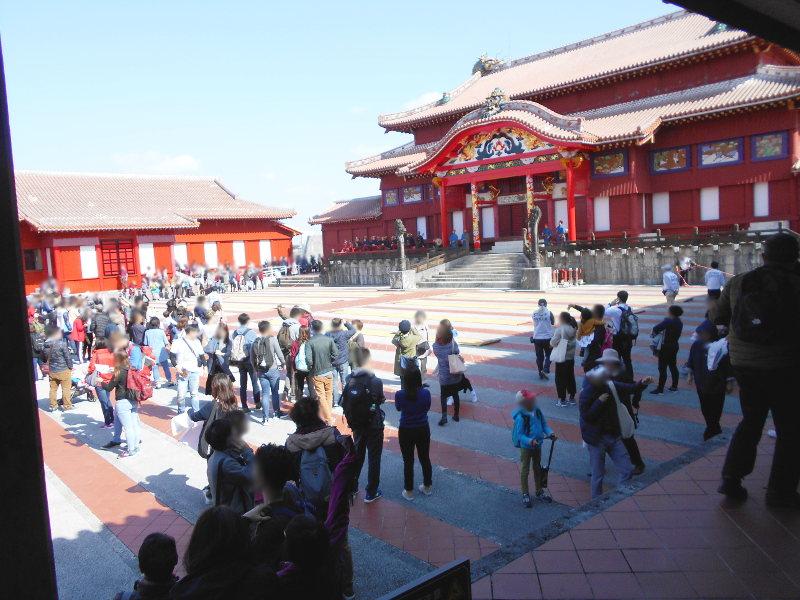 沖縄・那覇で年越し2018その4・首里城の正月儀式-1435