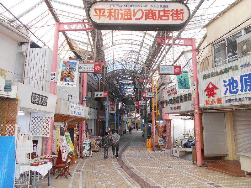 沖縄・那覇で年越し2018その7・平和通りとアーケード商店街-1703